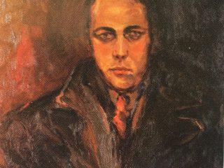 El óleo, titulado: Retrato de un abogado criminalista».