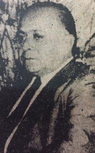 El periodista, dirigente político, y hombre público chivilcoyano, Don Carlos Santilli (1910-1977), fundador y primer gerente, de la empresa San Nicolás Servicios Sociales, creada el 20 de febrero de 1968.