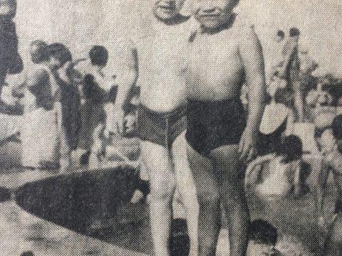 El verano de 1969, con una intensa ola de calor, durante el mes de enero, vivido por adolescentes jóvenes y niños, en las instalaciones del Club Huracán de Chivilcoy.