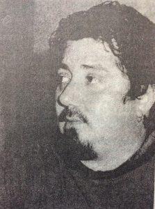 El músico, compositor y poeta, Sergio Osvaldo Fulvio (1963-2013).