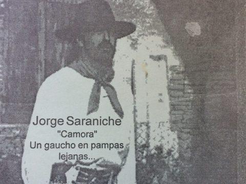 Jorge Sarniche (Camora), uno de los hijos del artista plástico y escritor, Ireneo Jorge Saraniche.