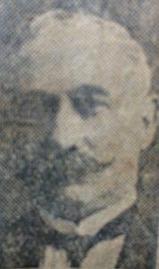 Don Enrique Gerónimo Taramasco, ex intendente municipal de Chivilcoy, desde 1922, hasta 1924, y entre 1926 y 1927.