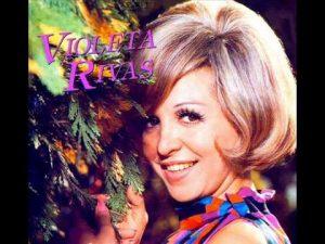 La gran intérprete Violeta Rivas, una estrella y gloria de Chivilcoy, en el luminoso cielo de la música popular argentina.