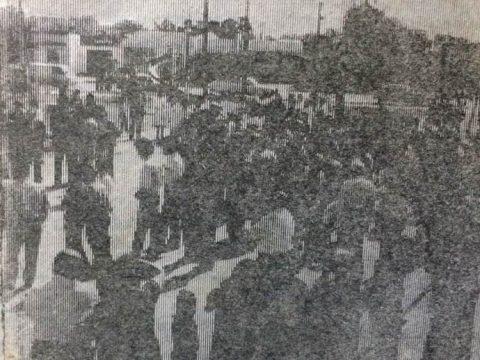 Inauguración de la Plaza del Barrio del Pito, el sábado 13 de octubre de 1984, por una iniciativa de la Sociedad de Fomento, presidida por Atilio Luis Maradei, a dicha plaza de juegos, se le impuso el nombre de «Italia».