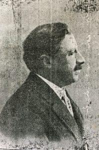 Don Leonilde Bardengo, ex intendente municipal, en 1917.