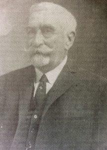 Don Prudencio Segundo Moras (1854-1939), ex intendente municipal, en 1892, entre 1903 y 1904, y desde 1915, hasta 1917.