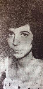 La escritora, poetisa, periodista y docente, profesora María del Valle Grange (1959-2017).