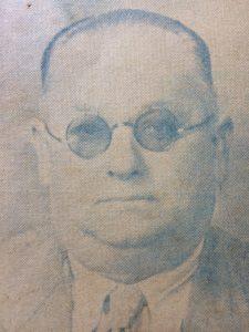 Don José Schiaffino, ex intendente municipal, en 1926, y entre los años 1948 y 1952. Productor agropecuario y cerealista, falleció en 1969.