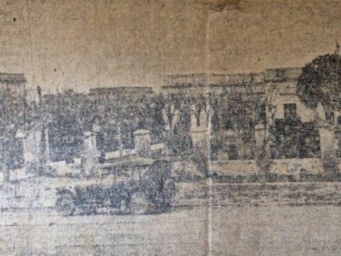 Postal chivilcoyana, del año 1926 (Imagen del Hospital Municipal, de nuestra ciudad).