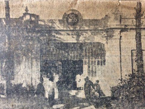 Postal chivilcoyana del año 1926. (Imagen del Sanatorio Social, de la Confederación de Sociedades de Socorros Mutuos, de Chivilcoy).
