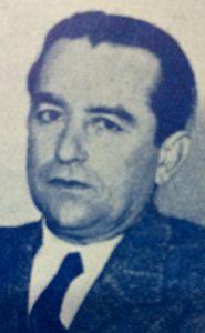 Don Ángel San Romé, intendente municipal de Chivilcoy, desde 1934 hasta 1936. Luego, fue electo senador provincial.