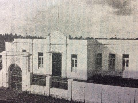 """La Asistencia Pública """"Dr. Santiago R. Gómez"""", inaugurada, el 15 de febrero de 1934, durante la administración municipal de Don Ángel San Romé. Se hallaba ubicada, en la intersección de las calles Bolívar y Salta; actual Museo Municipal de Artes Plásticas """"Pompeo Boggio"""". Con anterioridad, allí también, funcionó, el Hospital de Cirugía """"Gral. José Inocencio Arias"""". El """"Museo Pompeo Boggio"""", se instaló en dicho lugar, a principios del mes de enero, de 1958."""