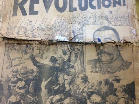 La revolución, cívico-militar, del sábado 6 de septiembre de 1930 -primer golpe de estado-, acontecido en la República Argentina, que hubo de quebrantar el orden constitucional y democrático-, a través de las páginas y columnas, del diario porteño «Crítica». En Chivilcoy, se intervino la comuna, y se designó al Dr. Pedro J. Uslenghi, como comisionado municipal.
