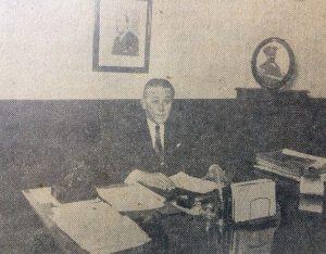 Don Rafael Juan Falabella, intendente municipal de Chivilcoy, entre 1932 y 1934, y desde 1936, hasta 1938. Había nacido, en 1888, y falleció el 13 de enero de 1942.
