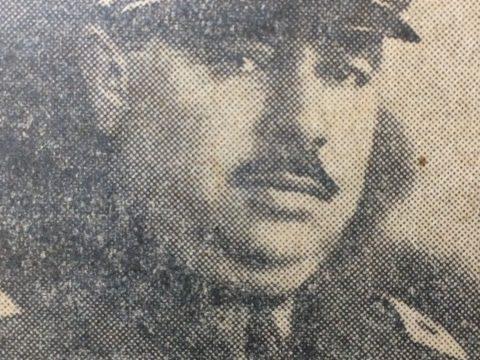 Comisario José M. Martocci, Jefe de la Policía local, durante la década de 1930.