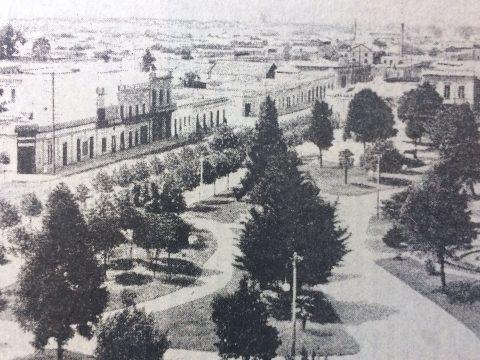 Imagen panorámica, de nuestra ciudad, a principios del siglo XX.