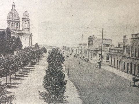 Planta urbana de Chivilcoy, a principios del siglo XX.