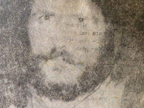 El gran intérprete y compositor folklórico, José Larralde, protagonista de la película «Santos Vega», firmada en la localidad rural de Gorostiaga, el 27 de marzo de 1971.