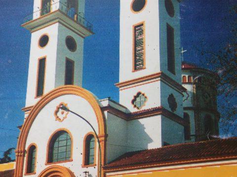 Parroquia Nuestra Señora del Carmen, declarada tal, el 16 de julio de 1937. El templo, en honor de la Virgen del Carmelo, se inauguró el 22 de octubre de 1949.