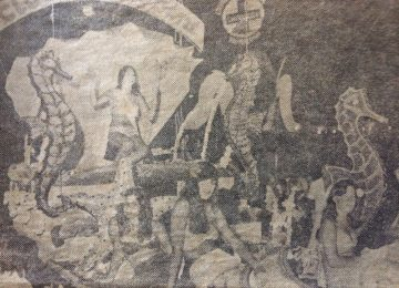 Carnaval chivilcoyano de la década de 1970.