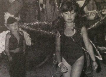 Los festejos del carnaval chivilcoyano, en 1988.