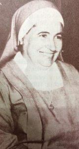 Sor María Teresa Abad, la inolvidable Hermana Piedad (1920-1994).