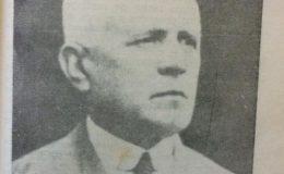 Don Antonio Seara, dirigente político y maestro normal, que fue uno de los directores del diario «El Debate «, junto al profesor José Fernández Coria.