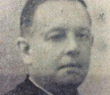 El presbítero, Dr. Luis Ramón Conti (1892-1974), ex titular de la parroquia San Pedro Apóstol, desde 1929, hasta su fallecimiento.