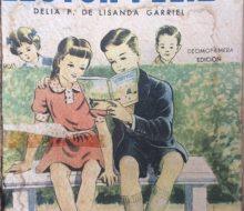 Ilustraciones, de distintos libros de lectura, de escuela primaria, correspondientes a las décadas de 1930, 1940 y 1950.