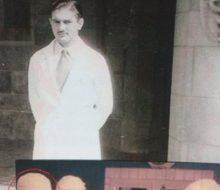 El Dr. Zancolli, en los años de su juventud.