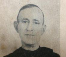 El querido e inolvidable sacerdote y docente, presbítero Zacarías Montalvo (1886-1952), una de las figuras educativas más importantes, del Colegio «Buen Consejo».