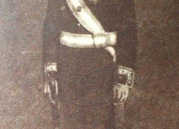 Retrato al óleo, del General Juan Domingo Perón año 1948.