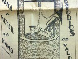 Publicidad de la tienda «Casa Gea» (Grandes Establecimientos Argentinos), realizada por el dibujante, Venanacio A. Galarza. Se publicó en el matutino local»La Razón», el viernes 15 de diciembre de 1933.