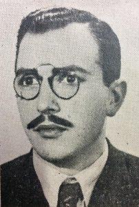 El artista plástico y docente, profesor Eduardo Cabella.