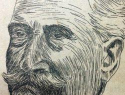 El patriarcal hombre público lugareño, Don Prudencio Segundo Moras (1854-1939), a través del excelente retrato, del dibujante Horacio Ávila.