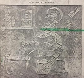 Semanario festivo, literario, artístico y de actualidades «Caras y Caretas», del 22 de abril de 1905. En dicha edición, encontramos una crónica periodística, sobre la importante inauguración, de la Escuela Normal de Chivilcoy.
