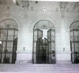 Estampa fotográfica, de la Escuela Normal «Domingo Faustino Sarmiento».