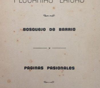 Libro editado, en mayo de 1954, en los talleres gráficos «Oeste».