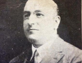 El ingeniero mecánico electricista, Domingo A. Morro, director de la Escuela de Educación Técnica, desde el 15 de junio de 1926, hasta su inesperado fallecimiento, el 9 de marzo de 1930.