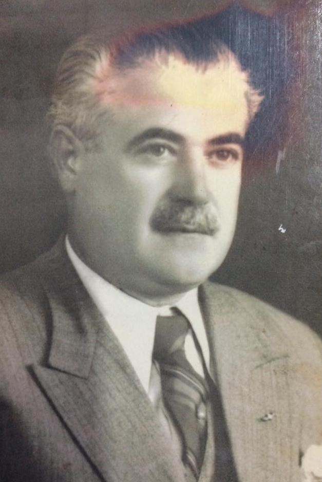 """El arquitecto Don Abel Basso Dastugue (1891-1944), prestigioso e inolvidable rector del Colegio Nacional """"José Hernández"""", desde el 20 de septimbre de 1922, hasta su fallecimiento, el 17 de marzo de 1944."""