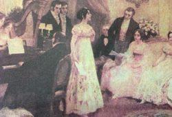 Imágenes alusivas, al Buenos Aires colonial, el tiempo histórico de la Revolución criolla, y el glorioso 25 de mayo de 1810, feliz nacimiento de nuestra Patria.