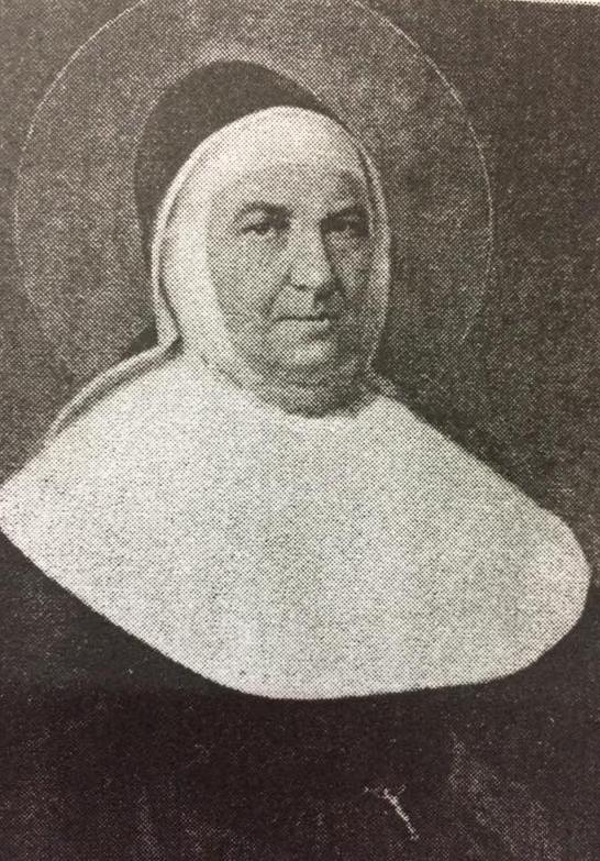 """La Santa italiana, María Josefa Rosello """"1811-1880"""", fundadora de la congregación """"Hijas de Nuestra Señora de la Misericordia"""", el 10 de agosto de 1837."""
