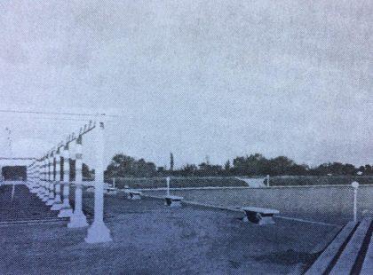 El antiguo e inolvidable, Lago Artificial de Chivilcoy, inaugurado el domingo 18 de febrero de 1940, el cual, se restauró y embelleció, bajo la gestión municipal, del Dr. Dardo Ibáñez Bustos, hacia el año 1942.