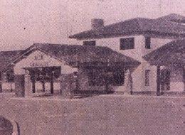 Estación del Automóvil Club, de Chivilcoy, habilitada el 29 de enero de 1946.