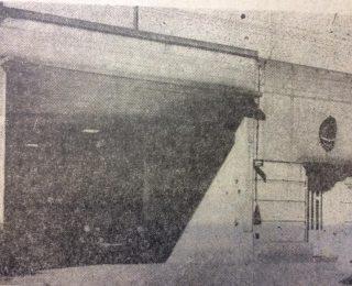 Vieja sede de la Sociedad y el Cuerpo de Bomberos Voluntarios de Chivilcoy, ubicada sobre la calle Lavalle Nro. 28. Allí, funcionó la institución, desde 1949 hasta noviembre de 1971.