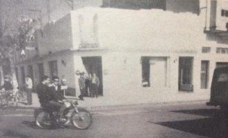 La siempre recordada confitería «La Macarena», de los hermanos Tito y Oscar Cadavid. (Estampa fotográfica, de la década de 1960).