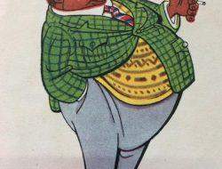 Magníficas ilustraciones, del talentoso y singular dibujante, escritor y arquitecto, Lino Palacio (1903-1984), correspondientes a la década de 1950.