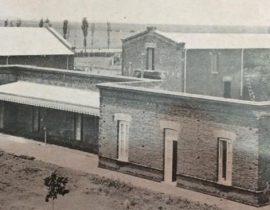 Imagen fotográfica, del establecimiento rural «La Verde», propiedad de Don Pascual Grisolía (Imagen del año 1910).