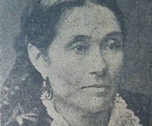 Doña Clara Lovia de Moras, esposa de Don José Moras, y madre de Don Prudencio Segundo Moras.