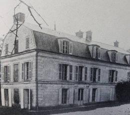 La casa donde residió, el General, en Grand-Bourg, hasta 1848.